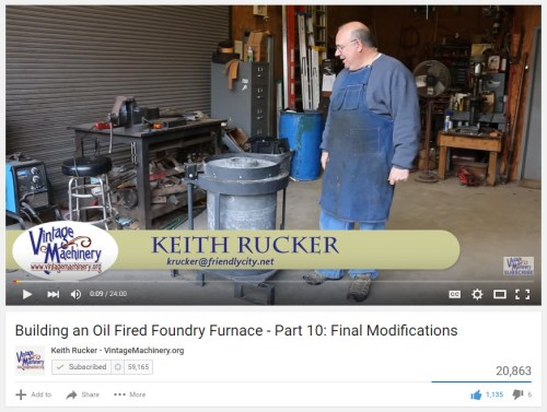 Vintage Machinery Keith Rucker