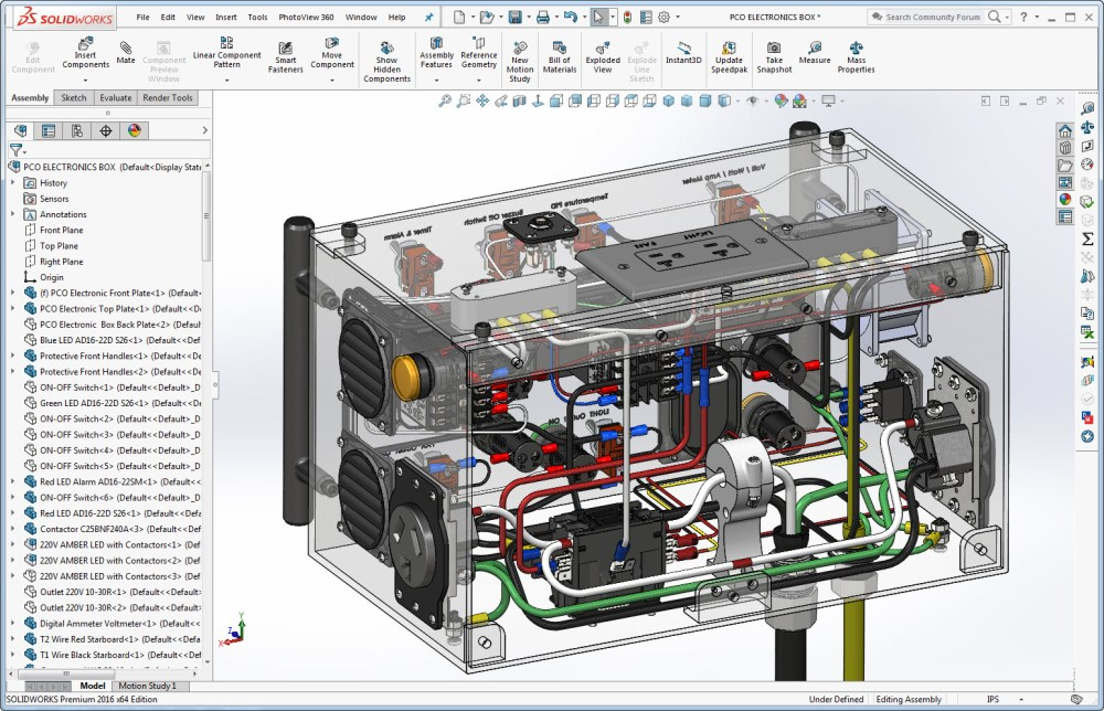 medium resolution of solidworks transparent view of powder coating oven control s wiring
