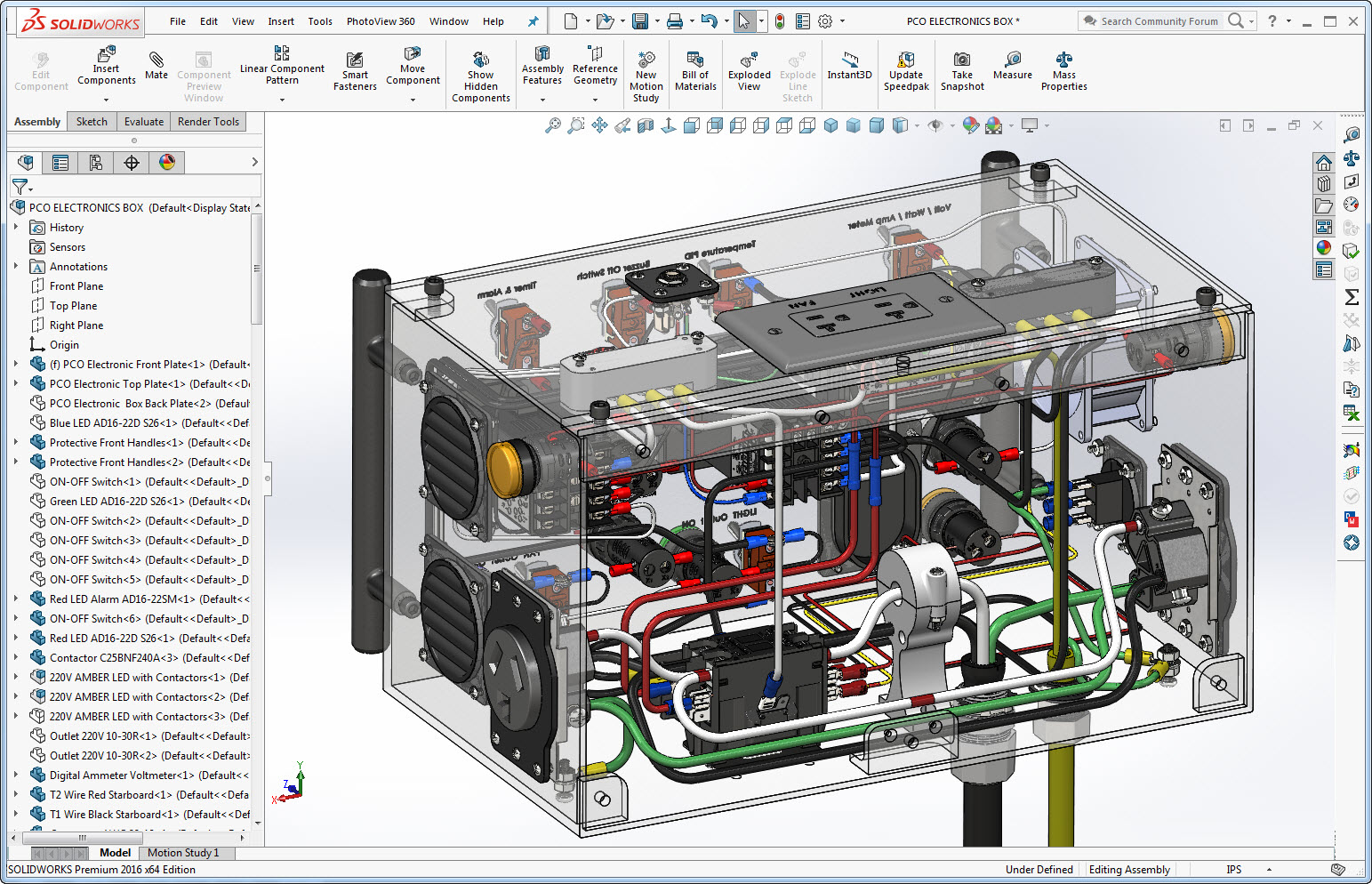 hight resolution of solidworks transparent view of powder coating oven control s wiring