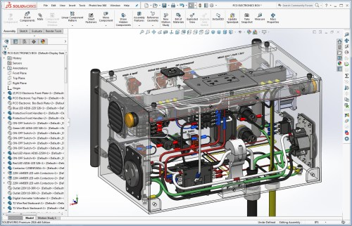small resolution of solidworks transparent view of powder coating oven control s wiring