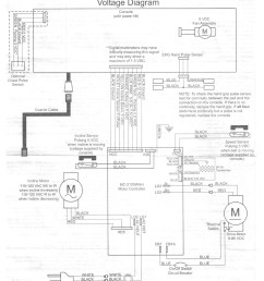 voltage diagram that came with the nordictrack viewpoint 2800 treadmill [ 1014 x 1243 Pixel ]