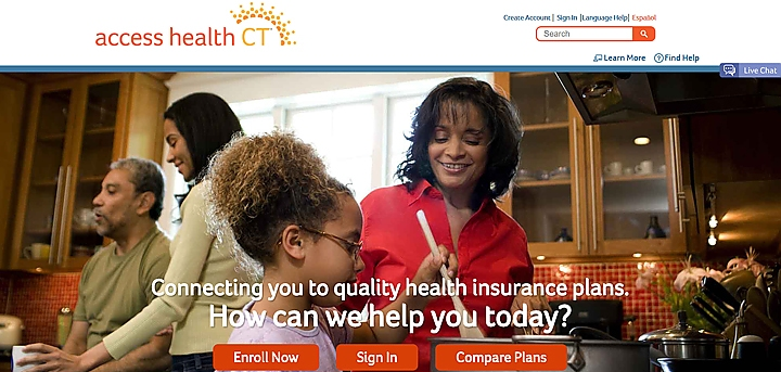 Courtesy of the Access Health CT website