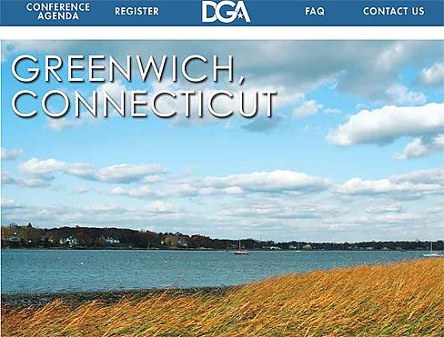 Screengrab of DGA website