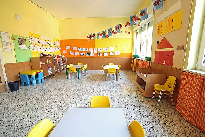 Image of childcare space (Chicco DodiFC via Shutterstock)