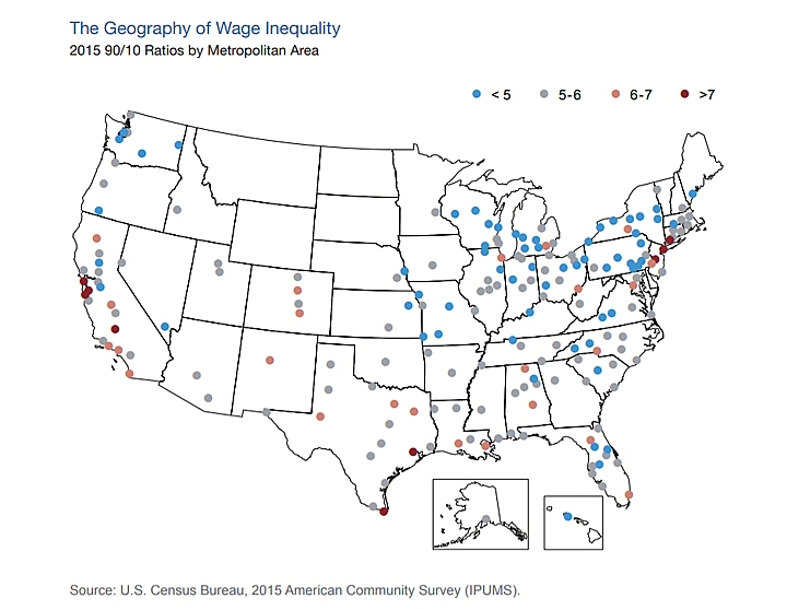Courtesy of Why Are Some Places So Much More Unequal Than Others?