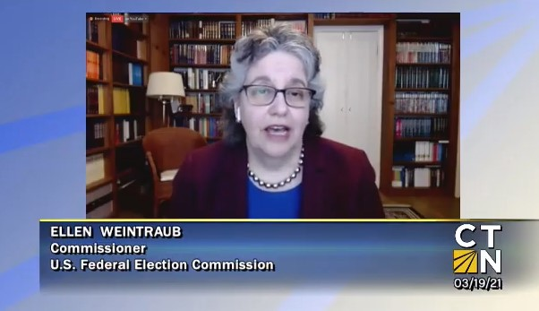 Federal Election Commissioner Ellen Weintraub (courtesy of CTN)