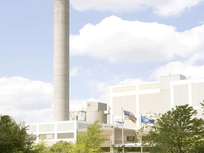 Image of Covanta's waste-to-energy plant in Bristol (Contributed photo)