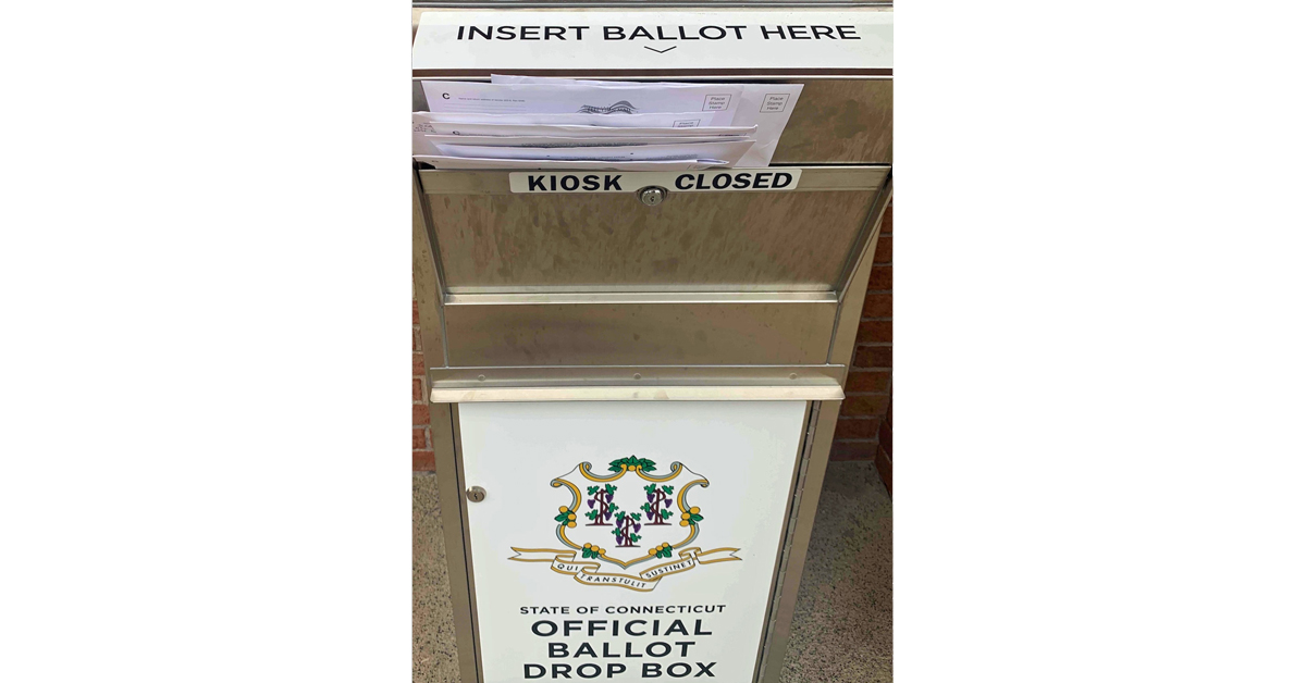According to testimony during a State Election Enforcement Commission meeting held Wednesday, April 8, this image of a West Haven ballot box was captured by West Haven Town Clerk Patricia Horvath two days after the Aug. 11 primary last year.