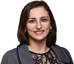 Attorney Dana R. Bucin, chair of the immigration practice at the law firm Murtha Cullina
