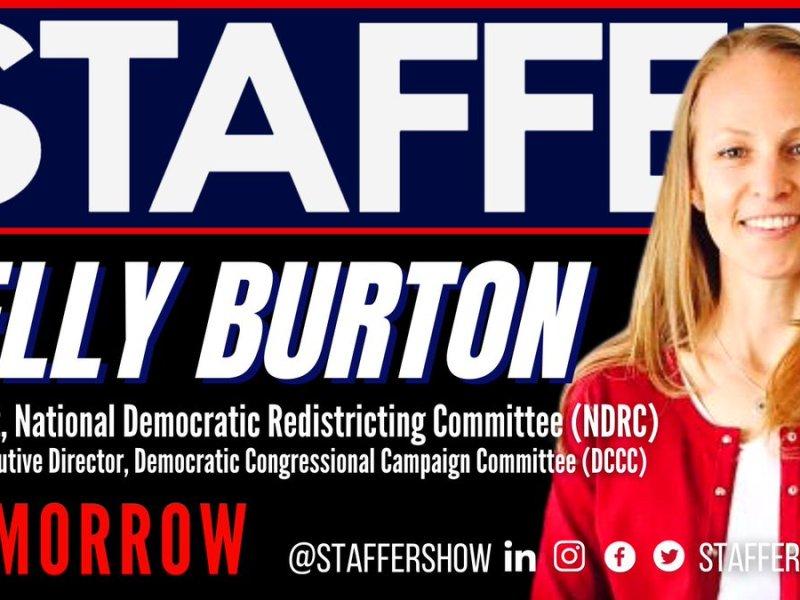 Kelly Burton guest on Staffer podcast