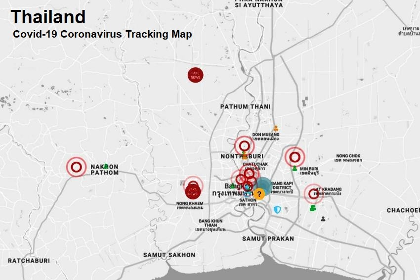 Thai IT Company Creates Coronavirus Covid-19 Tracking Website