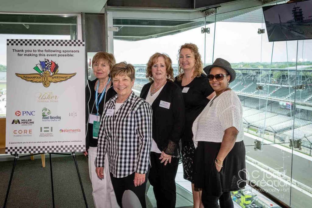 event image from fundraiser event at the track