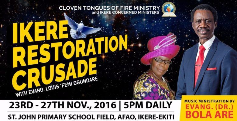 Ikere Restoration Crusade