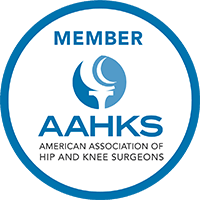 Sanjay K. Gupta, M.D. is a proud member of the American Association of Hip and Knee Surgeons