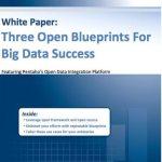 Open Frameworks Around Pentaho Providing Blueprints for Big Data Success