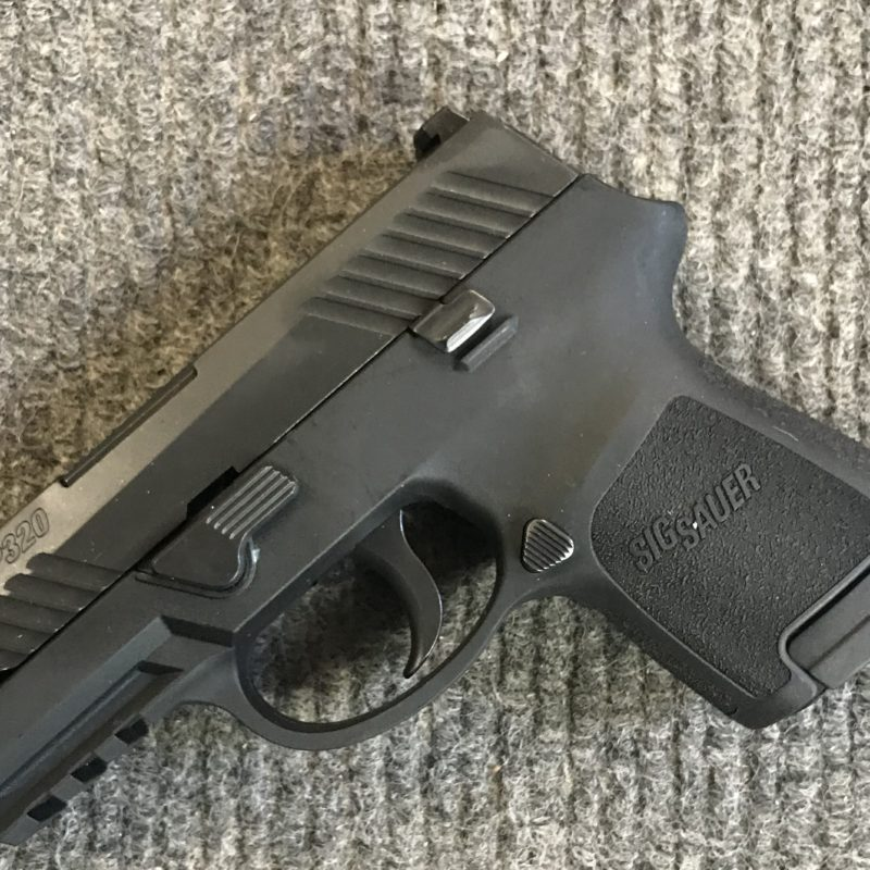 Sig Sauer P320 9mm sub compact - CTR Firearms