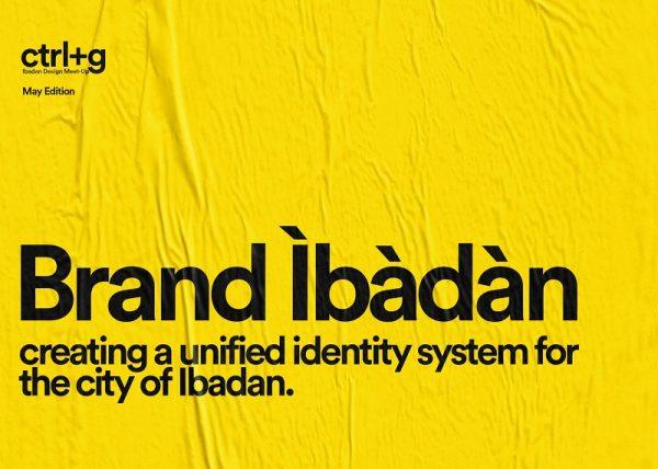 brand ibadan ctrl-g ibadan poster