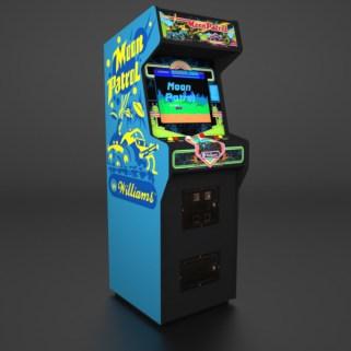 Arcade cabinet Moon Patrol