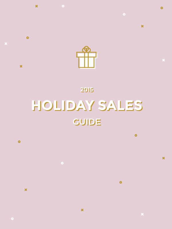 Holiday Sales 2015