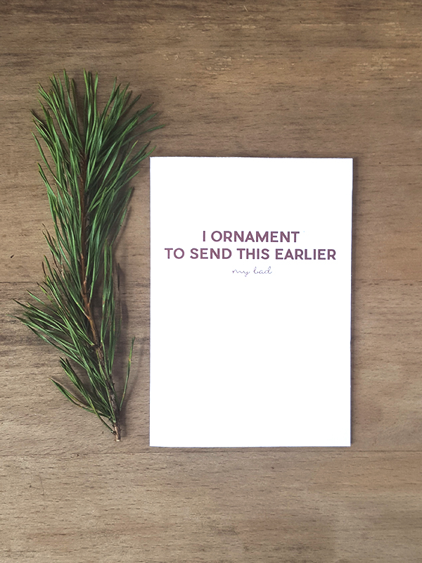 Yule Love These [Late] Holiday Cards