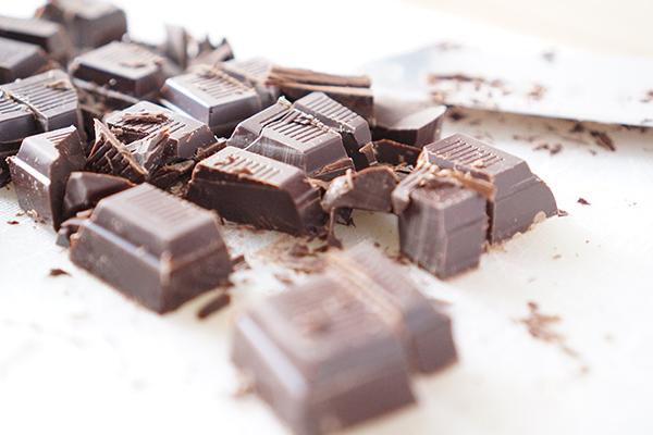 Dark Chocolate, Red Wine Valentine's Desserts