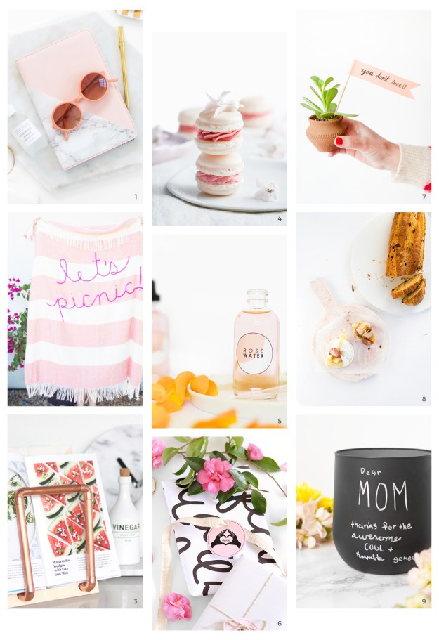 mother's day diy gift guide