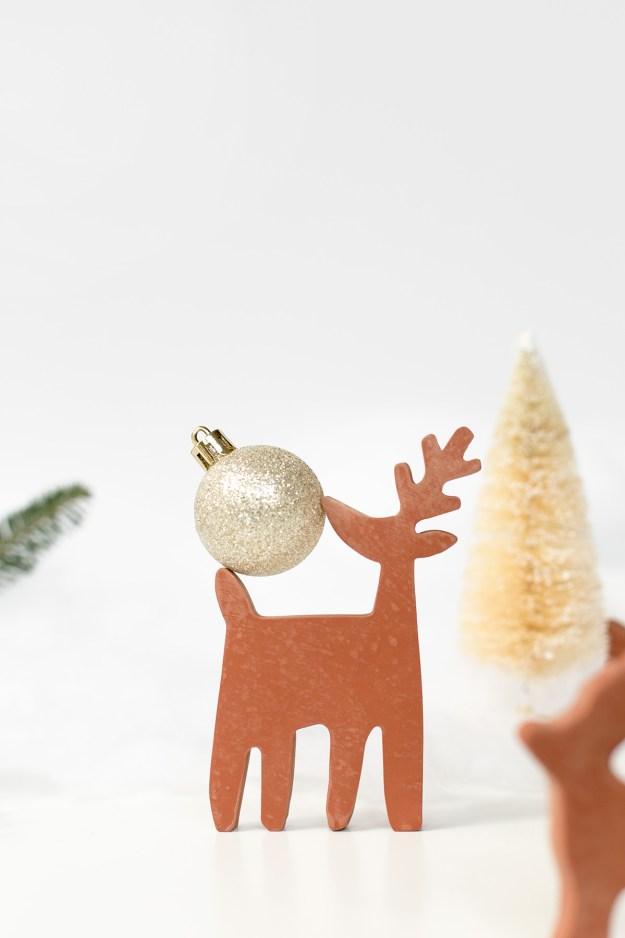 DIY Terracotta Reindeer