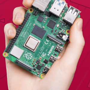 Raspberry Pi 4 Model B 2019 Quad Core 64 Bit WiFi Bluetooth - 4GB