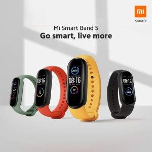 متتبع اللياقة البدنية Xiaomi Mi Band 5