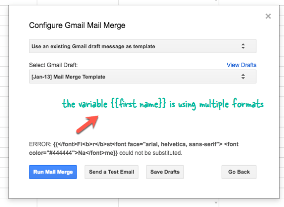 How To Use Variable Fields In Your Mail Merge Email Templates