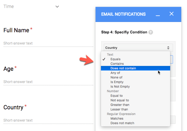 How to Send Conditional Emails Based on Google Form Answers