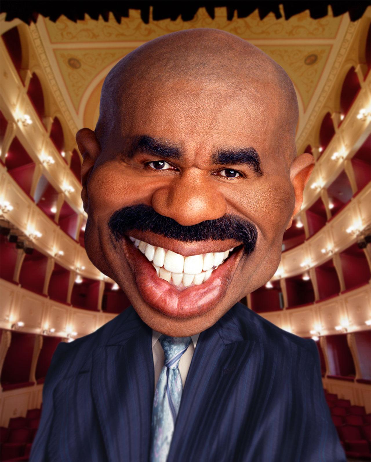 Steve Harvey Before Fake Teeth : steve, harvey, before, teeth, November, CtrlZstudio.com