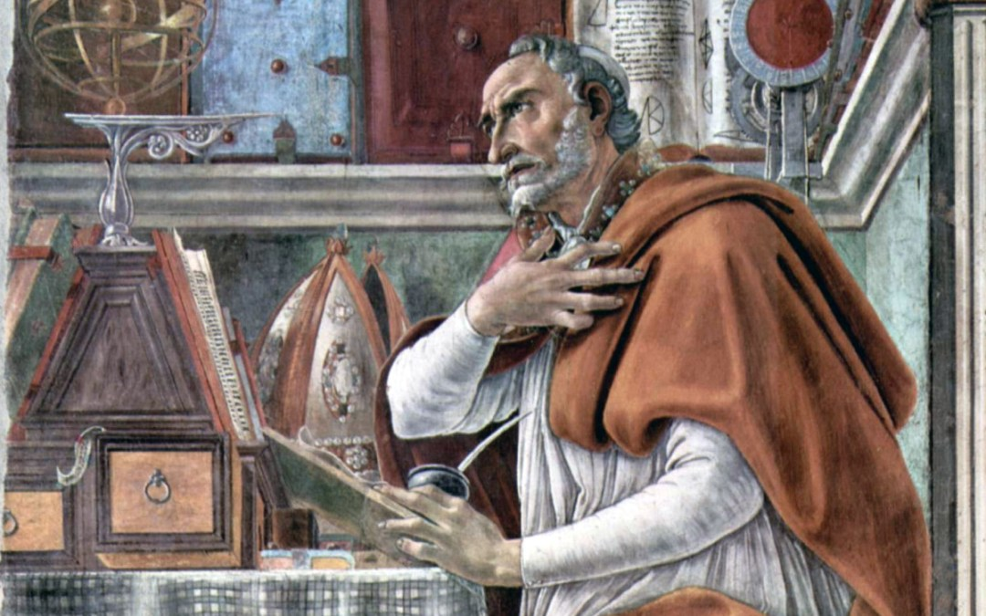 "Fr. Malcolm & St. Augustine's ""Confessions"": Outline Week 2"