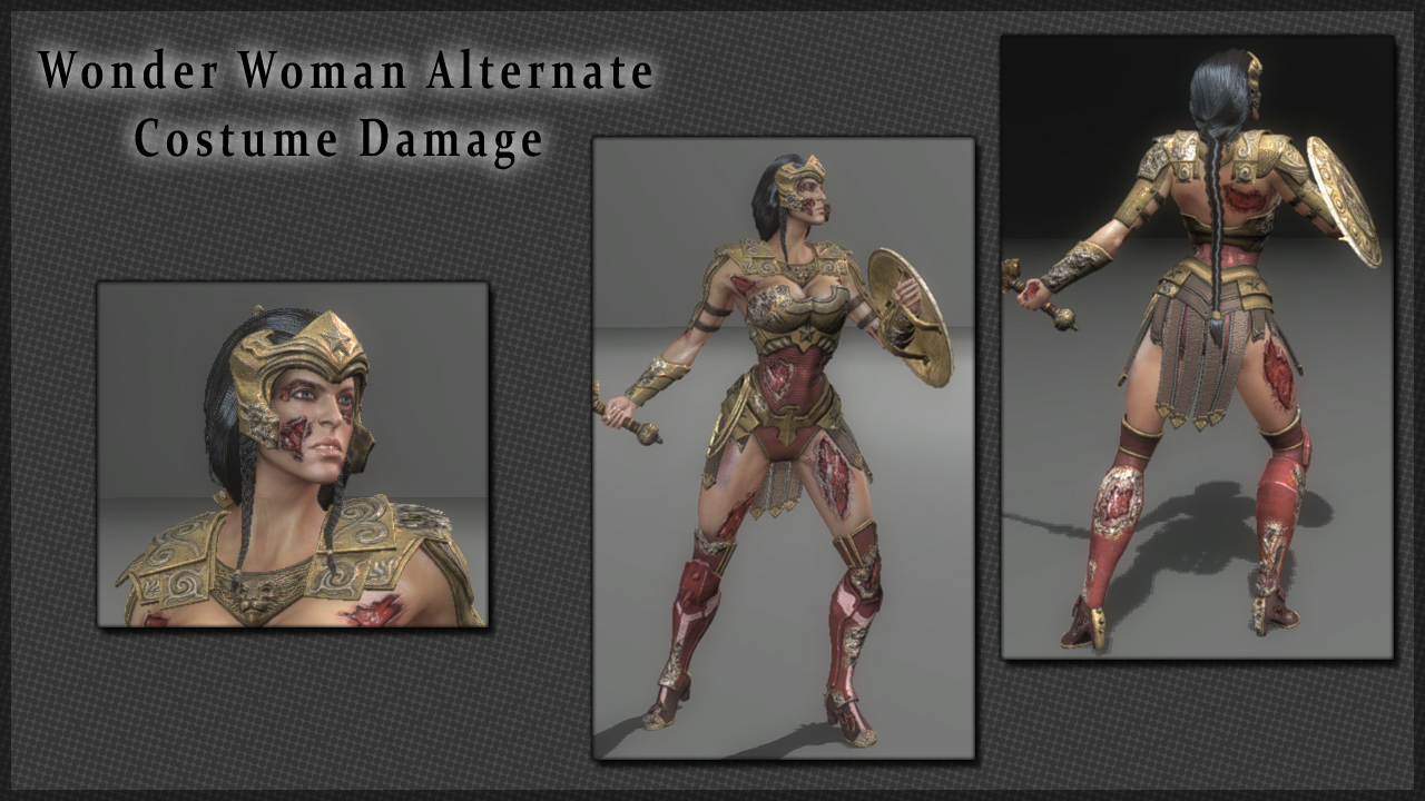 Injustice Alternate Character Damage CtSchroeder