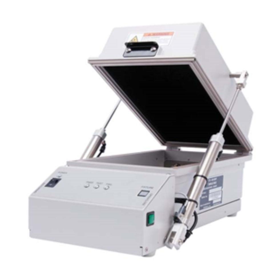 TC-5910DP Pneumatic RF Shield Box open front