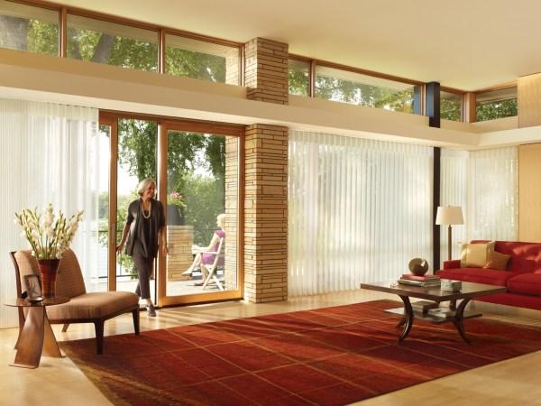 Sliding Glass Door Window Treatments Ideas