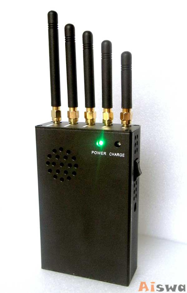 CTS-3W Portable 3G Cellphone Jammer & WiFi Jammer & UHF Jammer