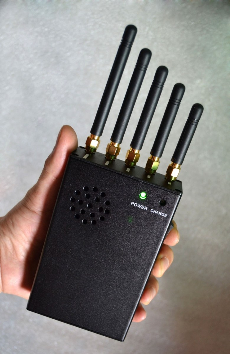 3W Handheld Phone Jammer WiFI Jammer GPS Jammer with Cooling Fan