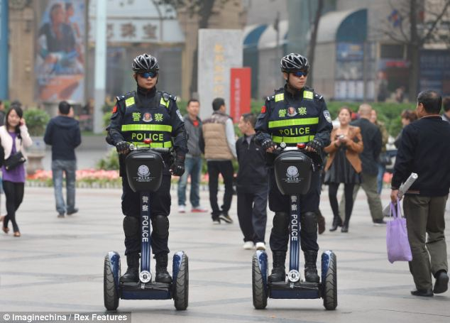 Security Electric Chariot