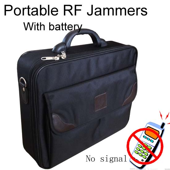 PORTABLE CELL PHONE JAMMER
