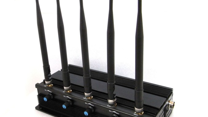 Powerful 5W All WiFi Signals Jammer