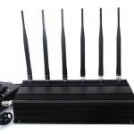 Подавитель сотовых телефонов GSM, 3G, Wi-Fi, GPS подавитель CTS-JU6 3