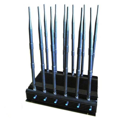 Стационарный подавитель GSM сотовых телефонов 3G-4G-Wi-Fi-GPS подавитель
