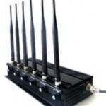 Подавитель GSM, 4G, 3G, Wi-Fi сигнала в кейсе (радиус действия до 50 метров)