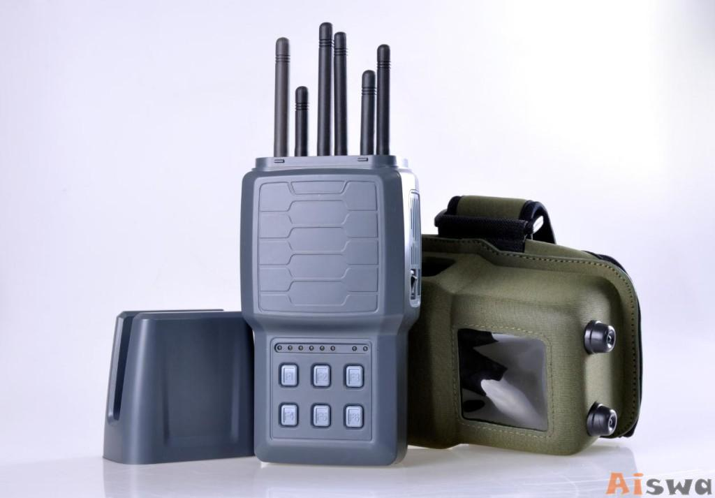 868 mhz jammer , Remote Control Cell Phone Signal Blocker Device 6 Band Channels For Prison