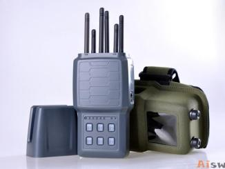 Handheld Cellphone Jammer WIFI and GPS jamming device with 6 bands