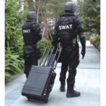 Portable Pelican Case RF Bomb Cellphone Signal Jammer GPS WiFi Blocker