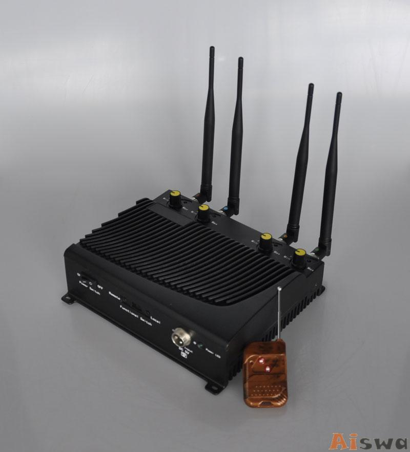 Adjustable Desktop Mobile Phone ,GPS Jammer with Remote Control 1