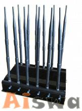 Cellphone Jammer Full Bands UHF VHF Blocker WiFi Jamming For Schools 1