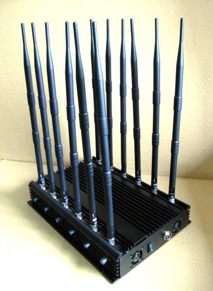 Cellphone Jammer Full Bands UHF VHF Blocker WiFi Jamming For Schools 3